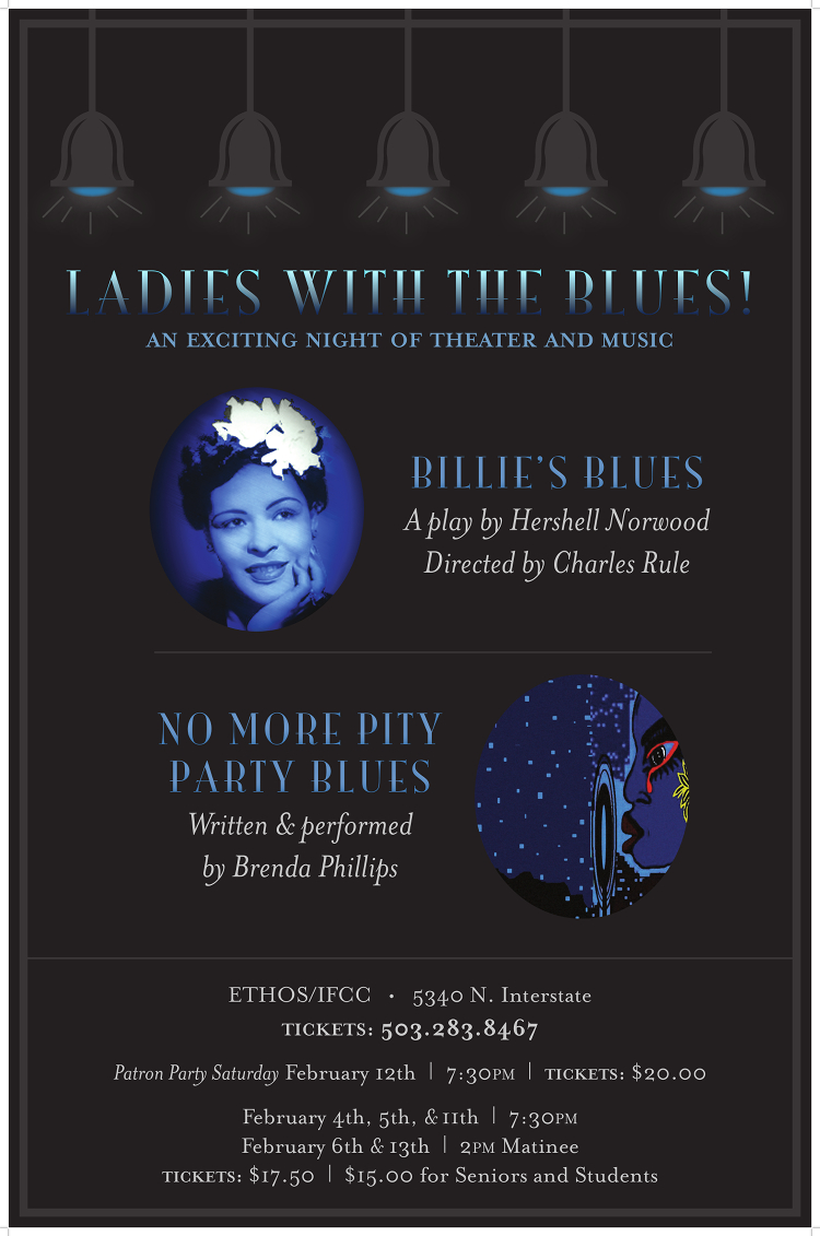 'Billies Blues, the Play' poster
